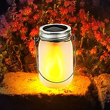 Grafner® LED Solar Glaskrug | Solarglas | 24