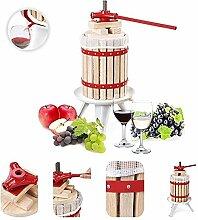 Grafner® Obstpresse 6L Fruchtpresse Weinpresse