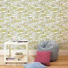 Graham & Brown Papier-Tapete houses Kollektion Kids Home IV, mehrfarbig, 50-609