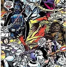 Graham & Brown PapierTapete Star Wars Cartoon