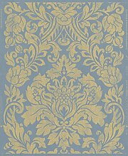 Graham & Brown Vlies Tapete Kollektion Artisan, blau, 33-332