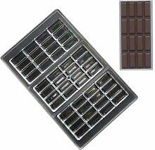 grainrain Schokolade Bar Formen PC Candy