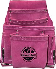 graintex SS1186 Pink Leder 10 Pocket