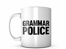Grammar Police Komisch Keramik Tasse Kaffee Tee