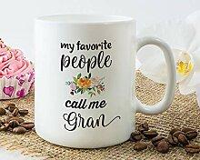 Gran Becher, Geschenk für Gran,