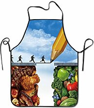 Granbey Vegane Kochschürze, vegetarischer