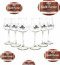 Grand Marnier Gläser Nosing Glas 6er Set Tasting