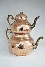 grandbazaarshopping Kupfer Türkischen Tee Maker,