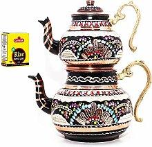 Grandbazaarshopping Türkischer Teekanne aus