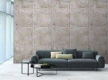 Grandeco Beton Wandbild Fototapete A34901