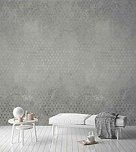 Grandeco Vintage Beton Wandbild Fototapete A35101