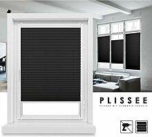 Grandekor Plissee Klemmfix Fenster 50 cm Plissee