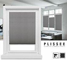 Grandekor *Plissee Klemmfix ohne Bohren Fenster
