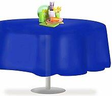 Grandipity Einweg-Tischdecke, Kunststoff, rund,