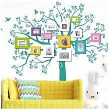 Grandora W5482 Wandtattoo XXL Baum I türkis (BxH)