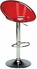 GRANDSOLEIL Stuhl-Bar Sphere transparent ro