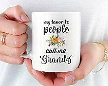 Grandy Becher Geschenk für Grandy Muttertag