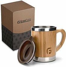 GranFore Kaffeebecher to go | 300ml Bambus