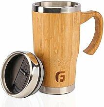 GranFore Kaffeebecher to go | 450ml Bambus