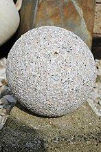 Granitkugeln,Gartenkugeln,rosa/grauer Granit,22cm