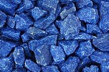 Granulat Farbsand 500g Dekosand Sand Streudeko Dekogranulat Bastelsand RU6 (Blau)