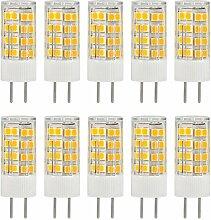 Granvoo 10-er Pack GY6.35 5W Kaltweiß LED Mais