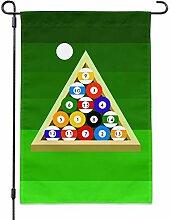 Graphics and More Billard Kugeln und Triangle Pool