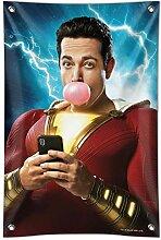 GRAPHICS & MORE Shazam! Filmposter Bubblegum Home