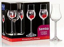 Grappaglas-Set Samba Ritzenhoff & Breker