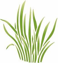 Gras Schablone, wiederverwendbar, große Sedge