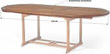 Grasekamp Gartentisch Tischplatten Abdeckung