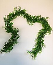 Grasgirlande Girlande Asparagus Gras Dekogirlande