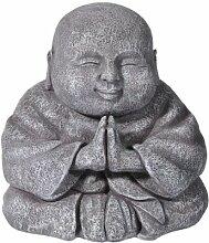 Grasslands Road Happy betend Buddha Figur,