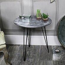 Grau Beton-Beistelltisch