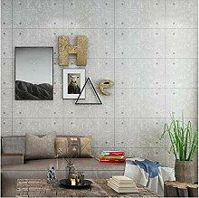 Grau Betonmauer Ziegelsteinmuster Tapete Für