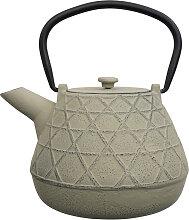 Grau / grüne Teekanne aus Gusseisen - Gusseisen -