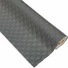 Grau PVC Bodenbelag Rolle 2,5mm dick 1m breit
