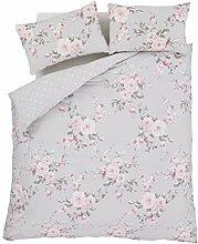 Bettwäschegarnituren Bettwaren, -wäsche & Matratzen Paris Flickwerk Rosa Creme Doppelbett Bettwäsche & Plissee-vorhänge
