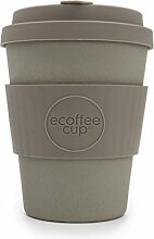 "Grauer Kaffeebecher ""Ecoffee Cup""Molto"