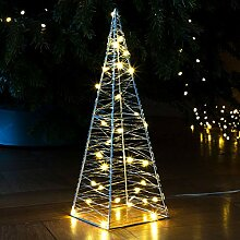 Gravidus 30 LED Metall Pyramide Lichterpyramide