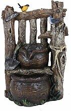 Gravidus dekorativer Gartenbrunnen mit 2-fach