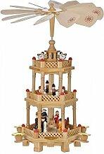 Gravidus Holz Weihnachtspyramide dreistöckig