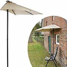 Gravidus praktischer Wand-Sonnenschirm in Beige,