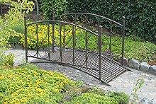 Gravidus schicke Gartenbrücke aus Metall