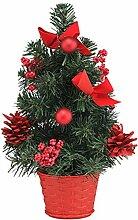 Gravidus schicker Mini-Weihnachtsbaum geschmückt,
