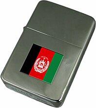 Gravur Feuerzeug Afghanistan Flagge