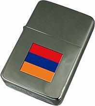Gravur Feuerzeug Armenien Flagge