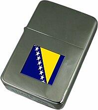 Gravur Feuerzeug Bosnien & Herzegowina Flagge