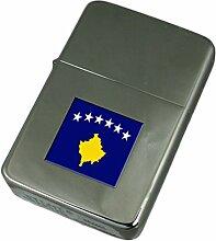 Gravur Feuerzeug Kosovo Flagge