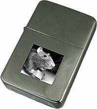 Gravur Feuerzeug Maus mit Käse